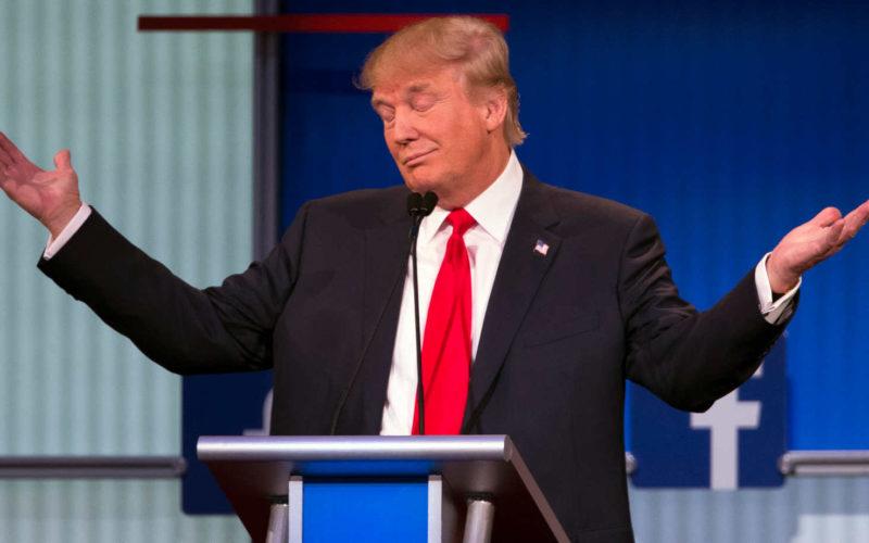 Trump Shrugs